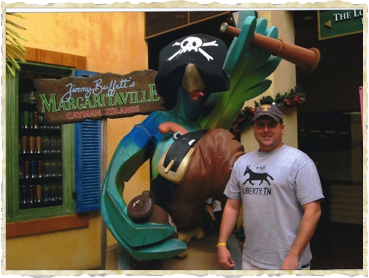 Rob introduces the Mule To Margaritaville in the Cayman Islands